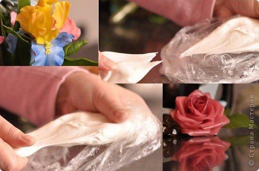 Как и обещала- фотография клея для самодельного фарфора. Основная маркировка клея в верхних уголках фото (D2). Только в этот клей ПВА добавляют пластификаторы, которые так необходимы для холодного фарфора. С использованием левого клея масса получается пластичная, а правого более тугая и крепкая (на фото видна разница).  фото 3