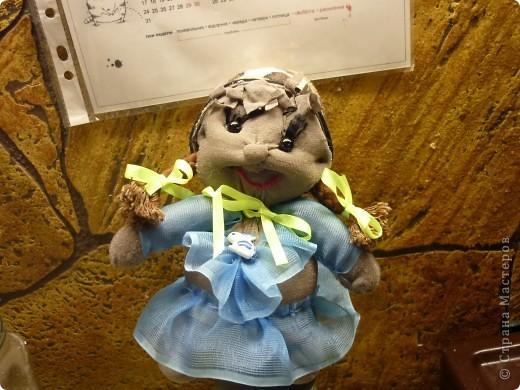 Моя первая куколка-пупс НЮША!  СПАСИБО НЕ вероятнаЯ!!!!