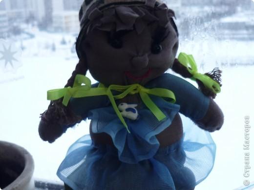 Это моя первая куколка-пупсик! Не судите строго. С иголкой не дужила)))) А ЗРЯ!!!