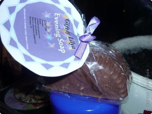 Шоколадное мыльце, очень вкусное))))) фото 1