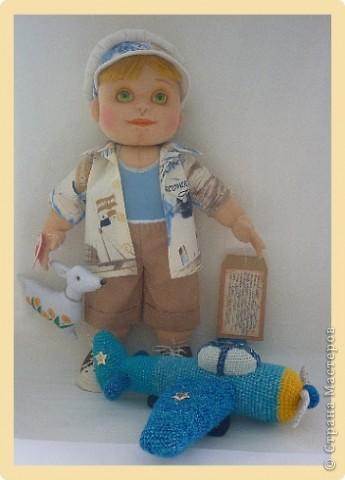 Рыжий Серёжка. Авторская кукла. фото 2