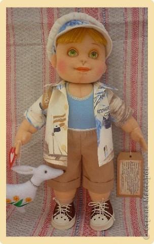 Рыжий Серёжка. Авторская кукла. фото 3