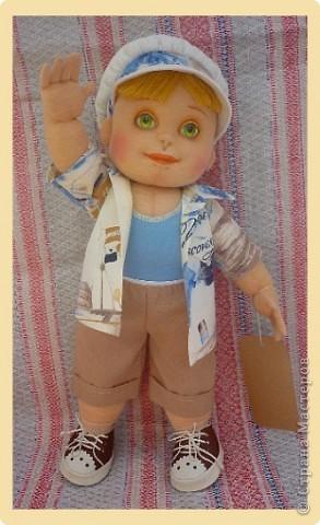 Рыжий Серёжка. Авторская кукла. фото 1