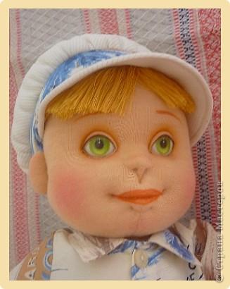 Рыжий Серёжка. Авторская кукла. фото 5