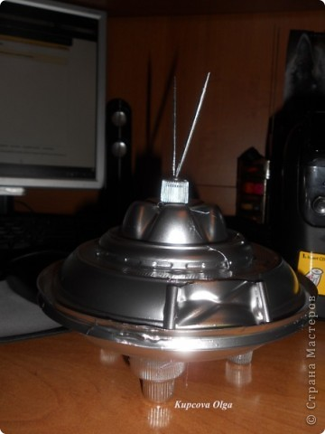 Летающая тарелка (повторюшка ) :)) фото 1