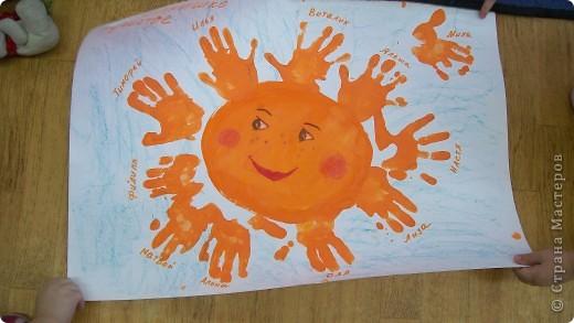коллективная работа деткам от 1,8 до 3 лет. фото 2
