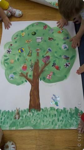 осеннее дерево, заготовка фото 3