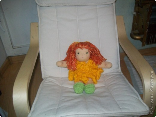 Вальдорфская кукла - Веснушка... фото 1