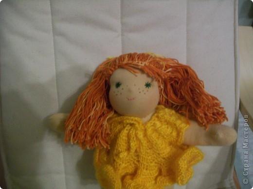 Вальдорфская кукла - Веснушка... фото 2