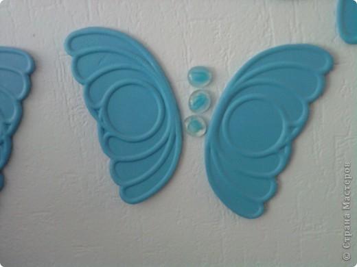 Вот такие бабочки у меня в спальне на стене фото 2