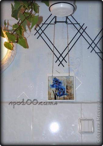Увидела эти работы http://stranamasterov.ru/node/139529?c=favorite и загорелась!Мама моя просто обожает ирисы,и я решила сделать ей подарочек,только обязательно с голубыми цветами. фото 2