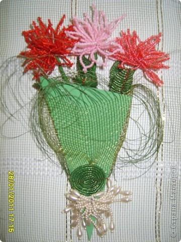 Такой букет можно подарить и на день рождение и на 8 марта.