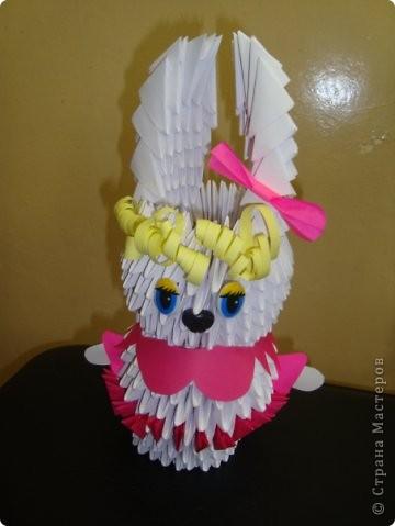 Красавица-зайчиха