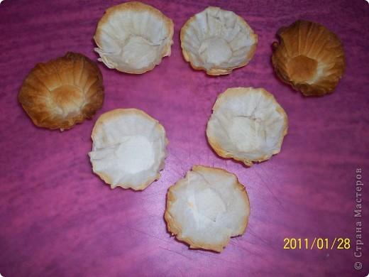 Тарталетки из теста филло. фото 3