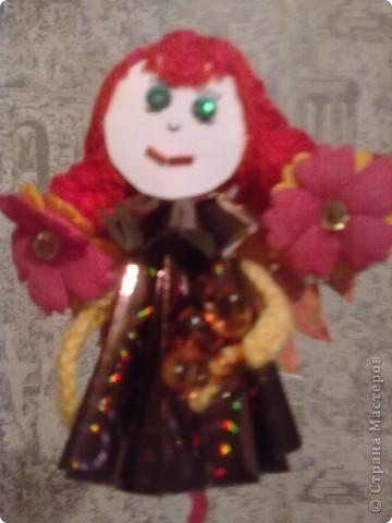 Ангел цветочный фото 1