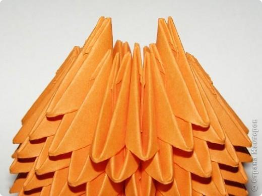 Мастер-класс Поделка изделие Оригами китайское модульное Лисичка-сестричка МК Бумага фото 10