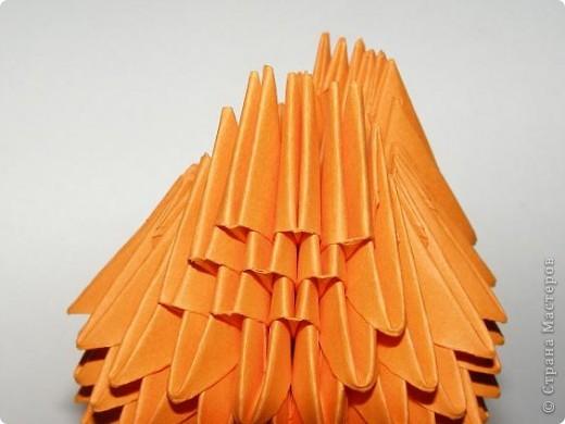 Мастер-класс Поделка изделие Оригами китайское модульное Лисичка-сестричка МК Бумага фото 12