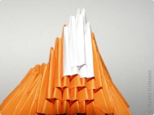Мастер-класс Поделка изделие Оригами китайское модульное Лисичка-сестричка МК Бумага фото 13