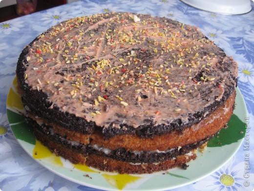 Вот такой тортик !Просто и быстро !А главное нямушка:) фото 1