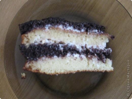 Вот такой тортик !Просто и быстро !А главное нямушка:) фото 2