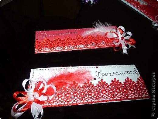 Приглашения на мою свадьбу!!!!!Ура)))) фото 2