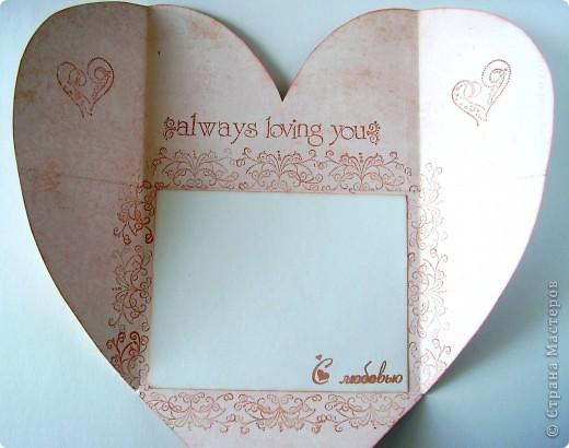 Первая открытка - раскладушка. Люблю открытки необычных форм :). Форма универсальная можно использовать для разных поводов и положить внутрь маленький подарочек.  фото 12