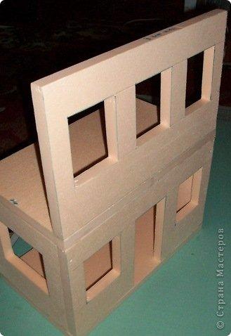 Вот такой небольшой домик сделали  для детей детского сада. фото 11