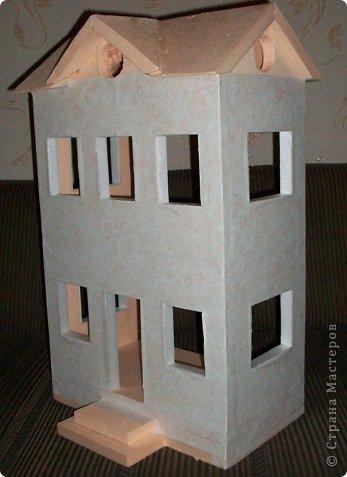 Вот такой небольшой домик сделали  для детей детского сада. фото 22