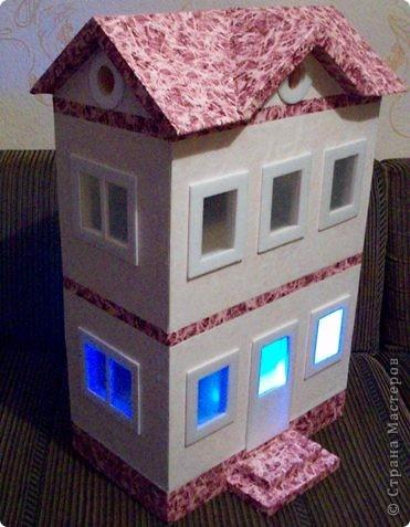 Вот такой небольшой домик сделали  для детей детского сада. фото 31