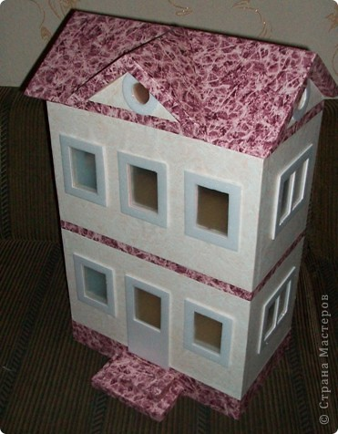 Вот такой небольшой домик сделали  для детей детского сада. фото 32