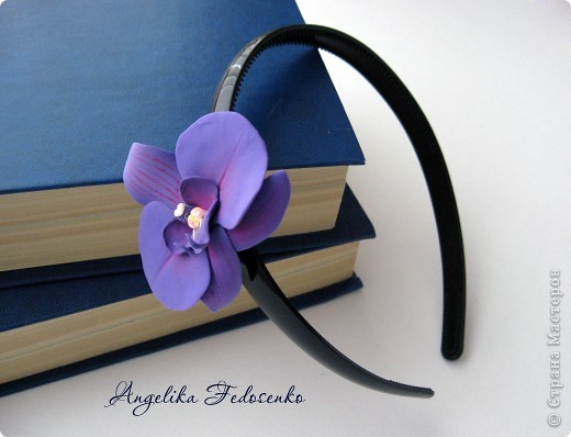 """Обруч """"Орхидея"""" фото 2"""