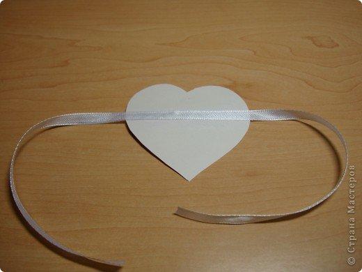 Еще одна Валентинка,которая превращается в гирлянду из сердечек. фото 7