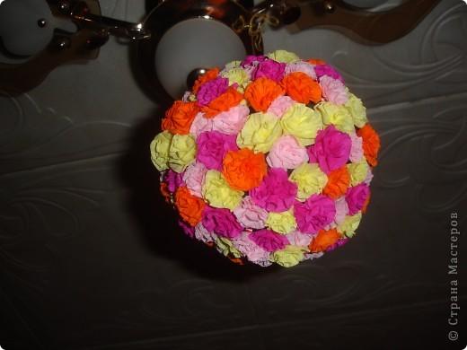 Цветочки на шаре фото 3