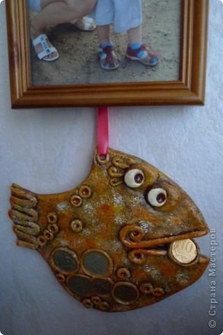 А вот и моя первая рыбка!  На этом фото еще без лака. фото 2