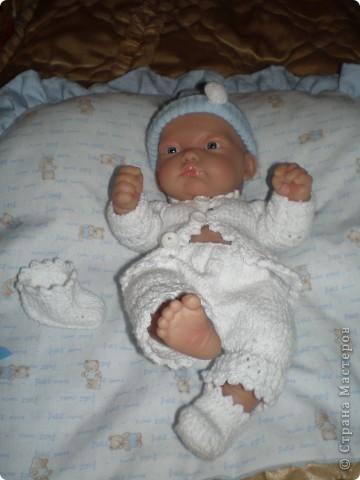 Мне голышок и так нравился, но дочка обязательно хотела что бы у него одежда была. фото 1