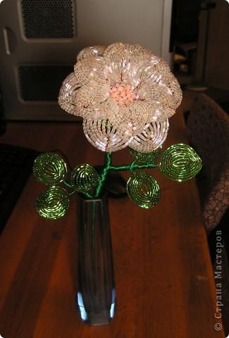 Перламутровый цветок