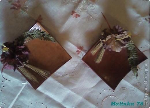 Были простые необработанные глиняные тарелки. Покрыли их  лаком украсили цветами и получились не плохие тарелочки для декора! фото 3