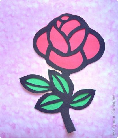 роза -витраж
