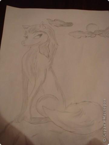Это мои рисунки. Хотя рисовала не сама ,а перерисововала, но вышло очень даже нечего. фото 1