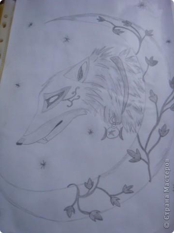 Это мои рисунки. Хотя рисовала не сама ,а перерисововала, но вышло очень даже нечего. фото 4