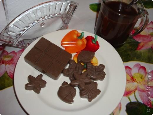 Шоколадка с конфетами
