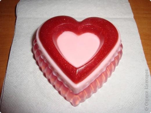 Сердечко трехслойное