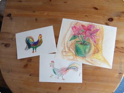 Воскресное утро обернулось тремя рисунками фото 1