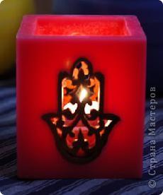 """Уважаемые посетители """"Страны мастеров""""! Хочется поделится с вами красотой которую производят марокканские ремесленники. Фотосфоры- это подсвечники в которые встраиваются металлические украшения или подсвечники, которые расписывают  хной. Смотрится просто здорово! Надеюсь они и вам понравились. фото 6"""