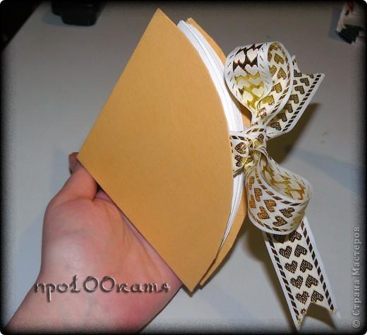 Наконец-то выполняю ещё одно обещание-показываю,как я делаю свои альбомчики. фото 10
