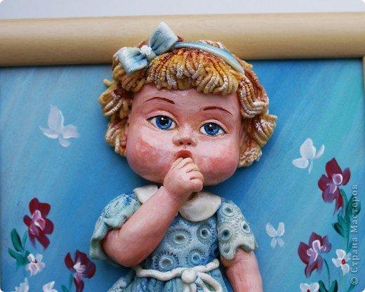 Вот, знакомьтесь - Сашенька))). Дождалась она и своей очереди. Три недели лежала недоделанная... фото 3