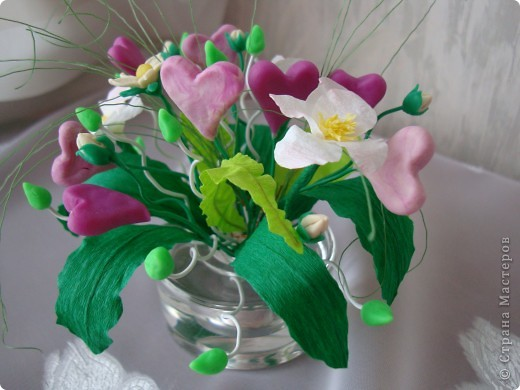 Вот такой цветочек вырастили мы к Валентинову дню. фото 5