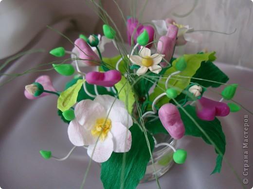 Вот такой цветочек вырастили мы к Валентинову дню. фото 3