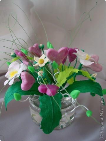 Вот такой цветочек вырастили мы к Валентинову дню. фото 1
