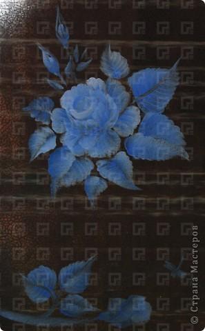Рисунок не очень четкий, ибо краски взяла не для керамики, а обычные художественные фото 3